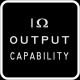 1 output